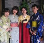 日本、韩国茶人参加公刘子茶道举办的茶会活动