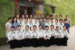 公刘子茶道08年5月职业技校教师茶艺培训班